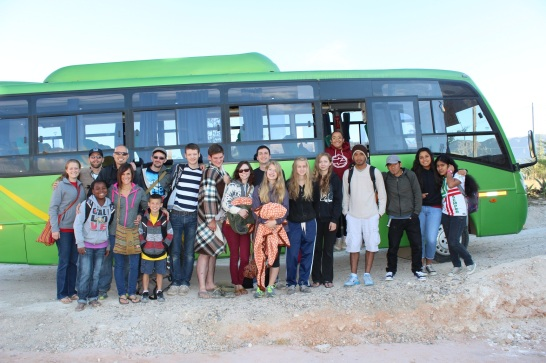Chilete Soccer Team Bus
