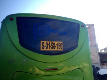 Peru Bus Image