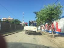 Traveling through Trujillo